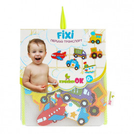 Игрушки на присосках для купания в ванной Первый транспорт KinderenOK (010416)